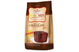 Mistura para Bolo sabor Chocolate King Mix 450g