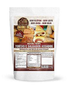 Mistura para Tortas e Salgados Sabor Sem Glúten 410g (Validade: 15/11/2017)