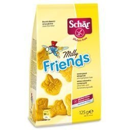 Biscoito doce Milly Friends Schar 125g