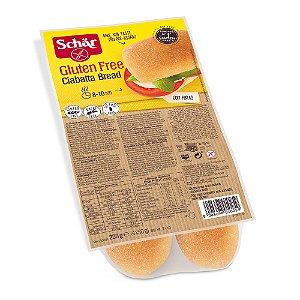 Pão Ciabatta Sem Glúten Schar 200g