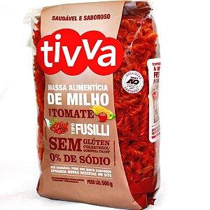 Macarrão Fusilli de Milho c/ Tomate Sem Glúten Tivva 500g