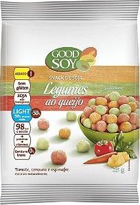 Snack de Soja Sabor Legumes ao Queijo Good Soy 25g (Validade 22/07/2018)