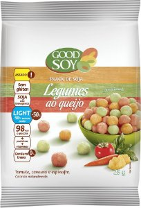 Snack de Soja Sabor Legumes ao Queijo Good Soy 25g