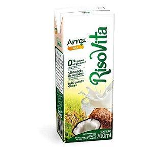 Bebida de Arroz c/ Coco RisoVita 200ml