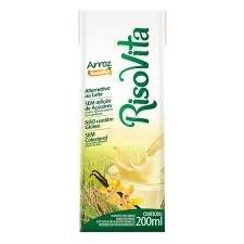 Bebida de Arroz c/ Baunilha RisoVita 200ml
