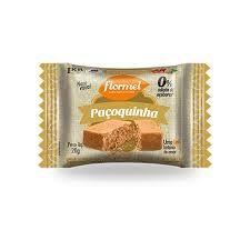 Paçoca Zero Açúcar Flormel 20g