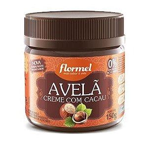 Creme de Avelã c/ Cacau Zero Açúcar Flormel 150g