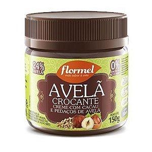 Creme de Avelã c/ Pedaços Zero Açúcar Flormel 150g