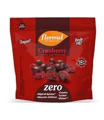 Cranberry c/ Cobertura de Chocolate 52% cacau Flormel 30g