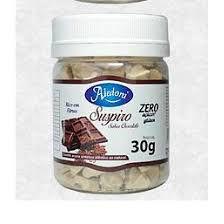 Suspiro Sabor Chocolate Sem Acucar Aledora 30g