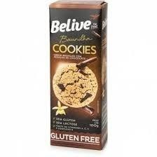 Cookie Baunilha com Pedaços de Chocolate Belive 100g