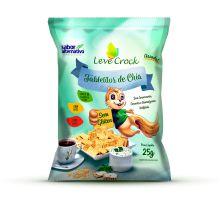 Biscoito Tabletitos de Chia Leve Crock 25g
