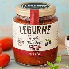 Tomate Confit c/ Azeitonas Pretas Legurmê 210g (Validade: 31/08/2017)
