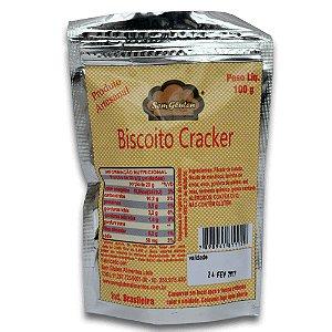 Biscoito tipo Cracker Sem Glúten Alimentos 100g