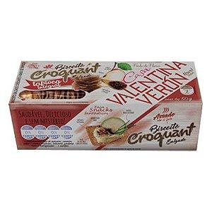Biscoito Casa Valentina Croquant Tapioca Integral 50g