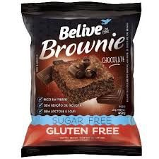 Brownie Chocolate Zero Açúcar Belive 40g