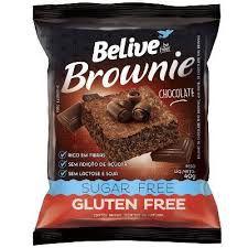 Brownie Chocolate Zero Açúcar Belive 40g (Validade 01/03/2018)