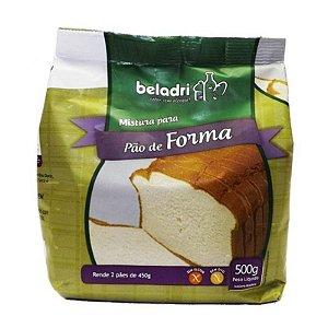 Mistura para Pão de Forma Sem Glúten Beladri 500g