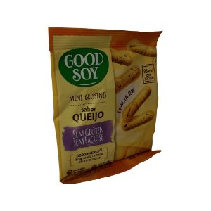 Mini Grissini Sabor Queijo Sem Glúten Good Soy 30g