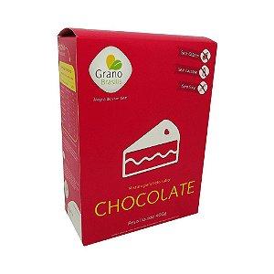 Mix para Bolo de Chocolate Sem Glúten Grano Brasilis 400g