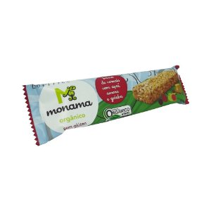 Barra de Cereal Orgânico Açaí, Amora e Goiaba Monama 25g