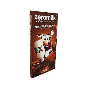 Chocolate Sem Glúten Zero Lactose Puro Zeromilk 80g