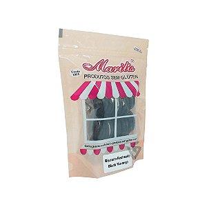 Biscoito Recheado Sem Glúten Black Morango Marilis 150g