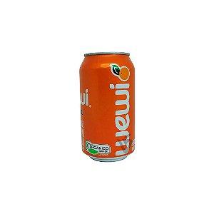 Refrigerante Orgânico Sem Glúten Sabor Laranja Wewi 350ml