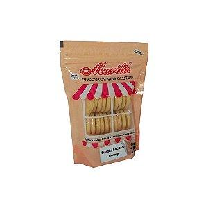 Biscoito Recheado Sem Glúten Morango Marilis 150g