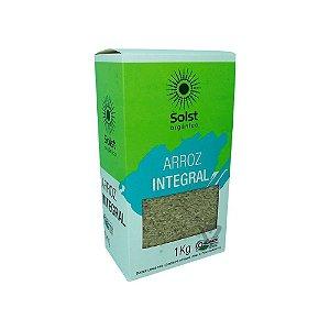 Arroz Integral Orgânico Tipo 1 Solst 1kg
