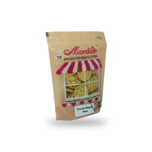 Biscoito Salgado Pizza Sem Glúten Marilis 150g (Validade 08/04/2018)