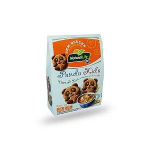 Biscoito Panda Kids Doce de Leite Sem Glúten Natural Life 100g (validade:30/11/2018)