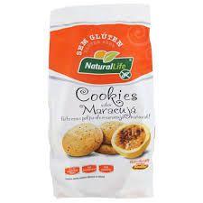 Cookies de Maracujá Sem Glúten Natural Life 180g (validade:31/10/2018)
