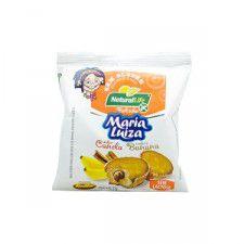 Bolinho Maria Luiza sabor Canela e Banana Sem Glúten  Natural Life 35G