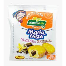 Bolinho Maria Luiza sabor Baunilha com Chocolate Sem Glúten Natural Life 35G