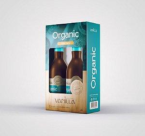Kit Shampoo e Condicionador Aloe Vera Orgânico Vanilla 250ml