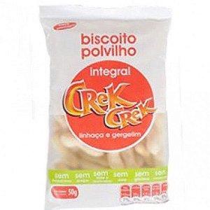 Biscoito Polvilho Crek Creck Integral Linhaça e Gergelim 50g