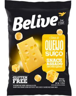 Snack Belive de Queijo Suiço Sem Gluten 35g