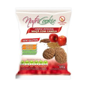 Cookie Integral de Maçã com Canela Nutri Cookie 120g