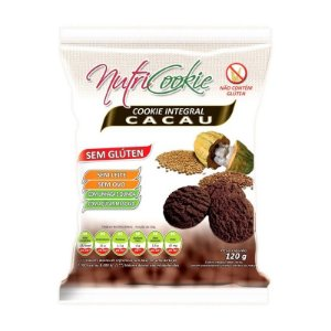 Cookie Integral de Cacau Nutri Cookie 120g
