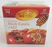 Chá Sulmel misto de Maçã, Canela e Mel 15g