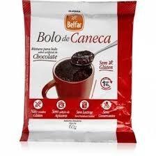 Bolo de Caneca de Chocolate Sem Glúten Belfar 60g