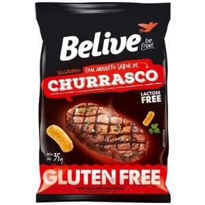 Snack de Churrasco Sem Glúten Belive  35g