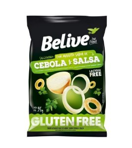 Snack de Cebola e Salsa Belive  35g