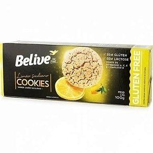 Cookie de Limão Siciliano Belive 100g