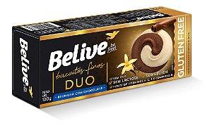 Biscoito de Baunilha c/ Chocolate Belive 120g