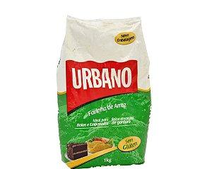 Farinha de Arroz Sem Glúten Urbano 1kg (Validade: 06/12/2017)