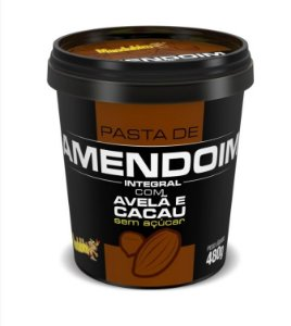Pasta de Amendoim c/ Avelã e Cacau Mandubim 480g