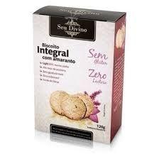 Biscoito Integral c/ Amaranto Seu Divino 120g