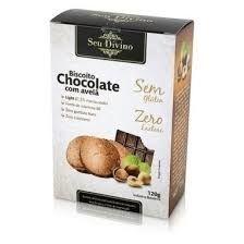 Biscoito de Chocolate c/ Avelã Seu Divino 120g